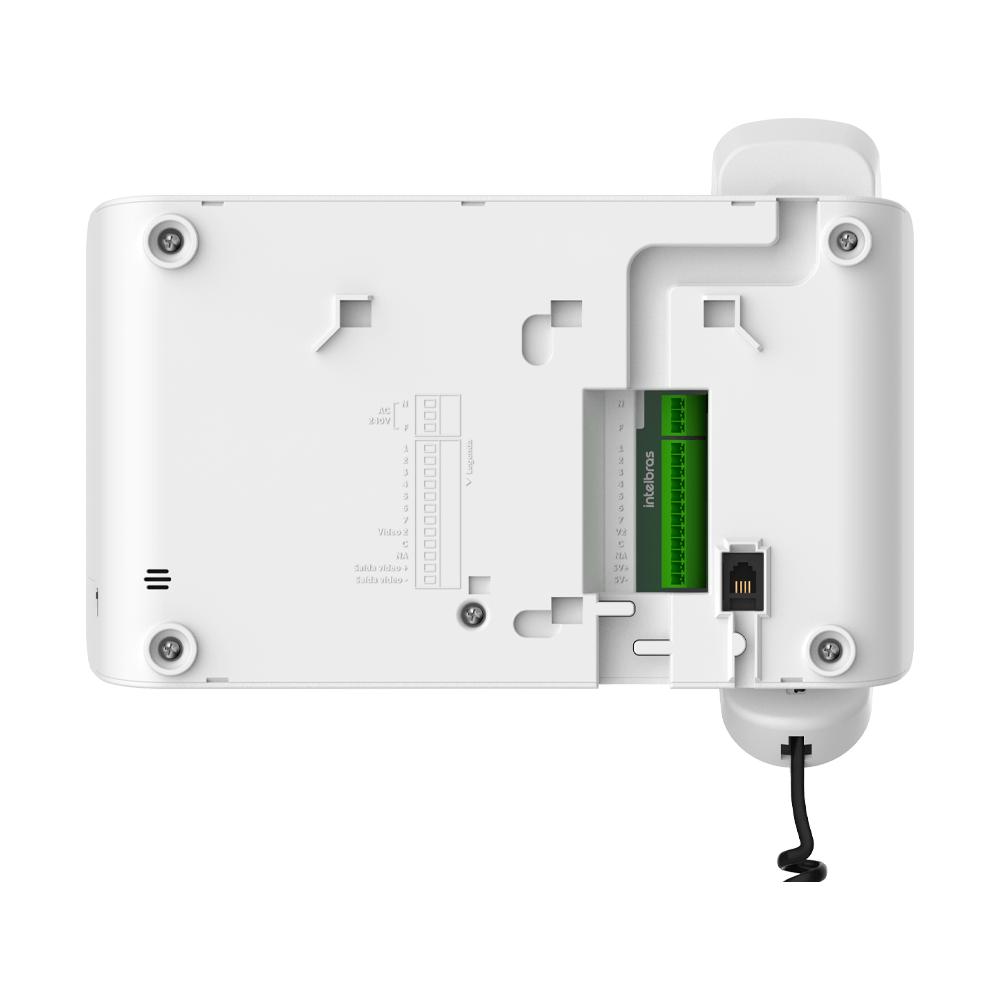 "Videoporteiro Intelbras IVR 1070 HS Display 7"" Visualização Noturna"