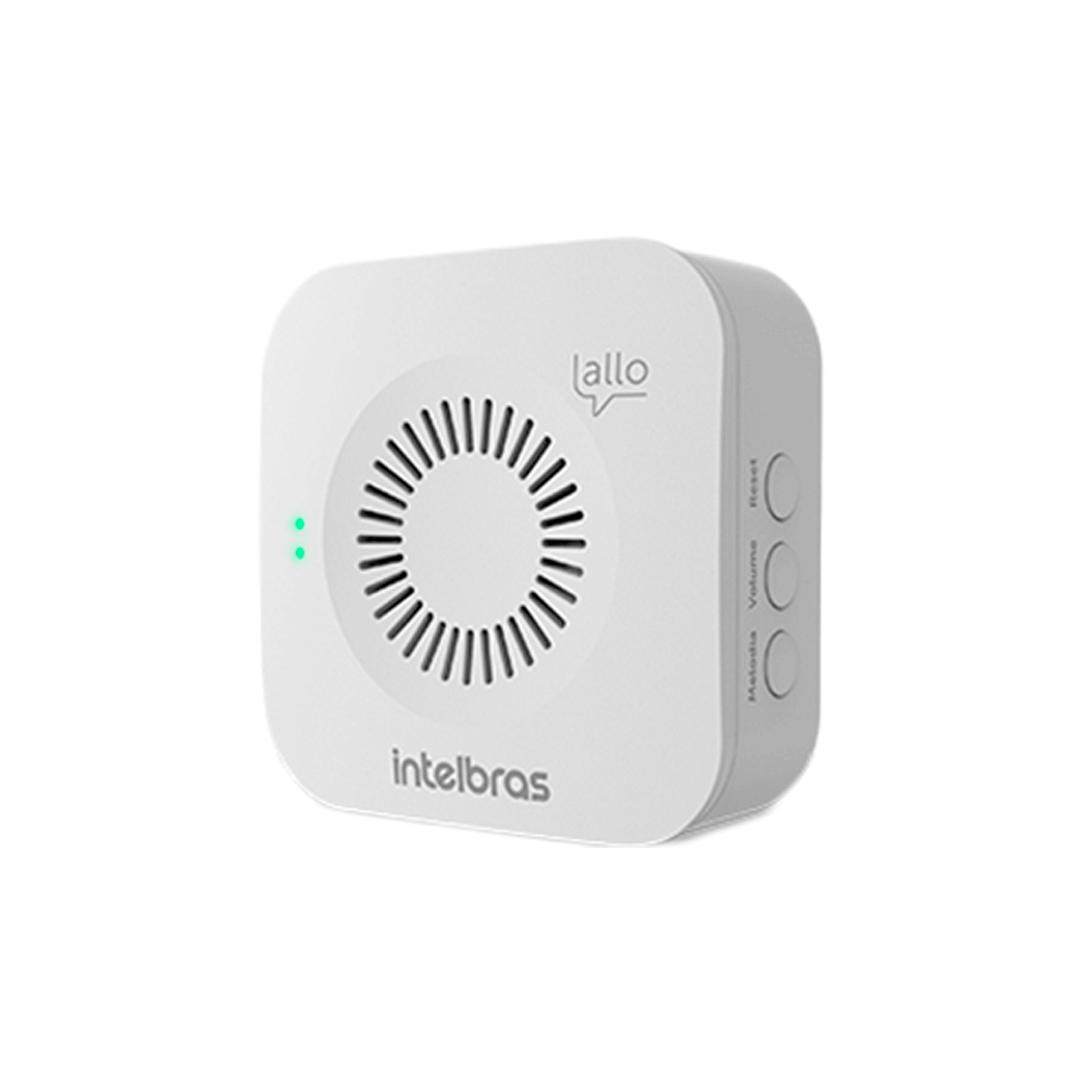 Videoporteiro Wi-fi Intelbras Allo w5+ Bateria Recarregável