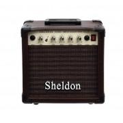 Amplificador Sheldon Para Violão VL2800 20W Marrom