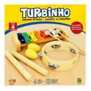 Bandinha Infantil Turbinho 4 instrumentos BR4B