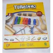 Bandinha Infantil Turbinho 7 instrumentos BR7