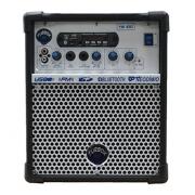 Caixa Multiuso Turbox TB100 Usb / Bluetooth / SD Card / Rádio - Preta