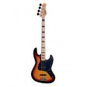 Contrabaixo Tagima Jazz Bass 4 Cordas TJB4 SB Escudo Preto