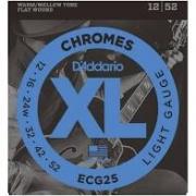 Encordoamento D'Addario ECG25 Chromes 12/52