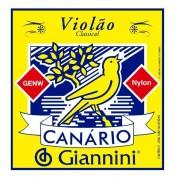 Encordoamento Giannini Canário Violão Nylon Cristal Genw