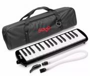 Escaleta Stagg 32 Teclas Preta com Capa Bag Profissional