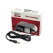 Fonte MXT 9V 1A P4 Chaveada Para Pedal Ou Teclado