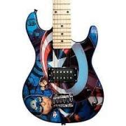 Guitarra Infantil PHX Marvel Capitão America