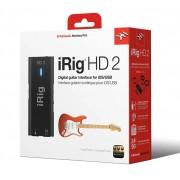 Interface De Áudio Ik Multimedia Irig HD 2 Guitar iOS/USB