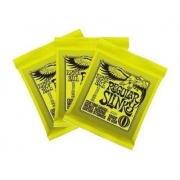 kit 3 encordoamentos ernie ball guitarra 2221 regular slinky 10/46