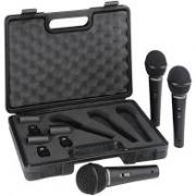 kit 3 Microfones Behringer Ultravoice XM1800S