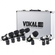 KIt de Microfones para Bateria Vokal VDM7