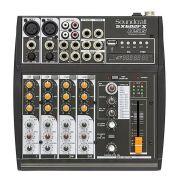 Mesa De Som Soundcraft SX602FX 6 Canais Usb