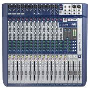 Mesa De Som Soundcraft Signature 16 Canais