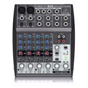 Mesa Som Behringer Mixer 8 Entradas Xenyx802 110v