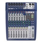 Mesa Som Soundcraft Signature 10 Canais Mixer Analógico Usb