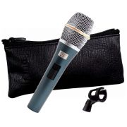 Microfone Kadosh Dinâmico + Bag Couro + Cachimbo K98