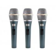 Microfone Kadosh Dinâmico + Bag Couro + Cachimbo K98 Kit