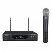 Microfone Kadosh KDSW 481M Sem Fio de Mão Dinamico Cardioide