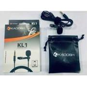 Microfone Kadosh KL1 Lapela Com fio