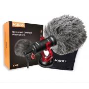 Microfone KSR para Câmera Celular KM1 Kit