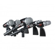 Microfone Leacs Kit para Baterias LC7
