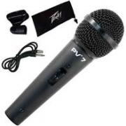 Microfone Peavey PV7 Mão Com Fio