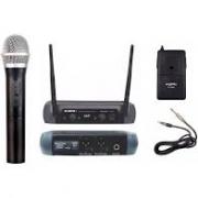 Microfone Sem Fio KSR Mão e Instrumento UHF