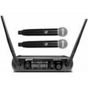 Microfone Sem Fio Lexsen Duplo LM 258u PLL UHF