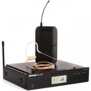 Microfone Sem Fio Shure BLX14RBR/MX53-M15 Earset condensador Omnidirecional