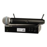 Microfone Sem Fio Shure BLX24RBR Beta 58 J10