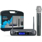 Microfone Sem Fio Vokal VWR15M Mão UHF Individual