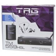Microfone Tag Sound Tm559hsl Wireless Sem Fio