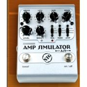 Pedal Nig Amp simulator AS1 guitarra