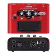 Pedal Processador Voz Boss Ve-2 Vocal Harmonist Roland Ve2