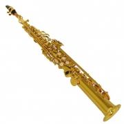 Sax Soprano Reto Klassic Wind Dourado FSS100