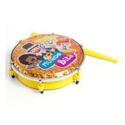 """Tamborim Infantil  Luen ABS Amarelo Mundo Bita 06"""""""