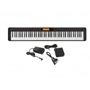 Teclado Casio Piano Digital Stage CDPS350 Preto BK Promoção