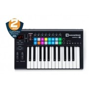 Teclado Controlador Usb Launchkey 25 Mk2 - Novation