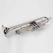 Trompete Schieffer Sib Niquelado com Case SCHTP003