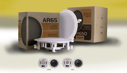 Alto Falante Arandela Donner Ar65 40w Rms Ll Audio Par  - MegaLojaSP