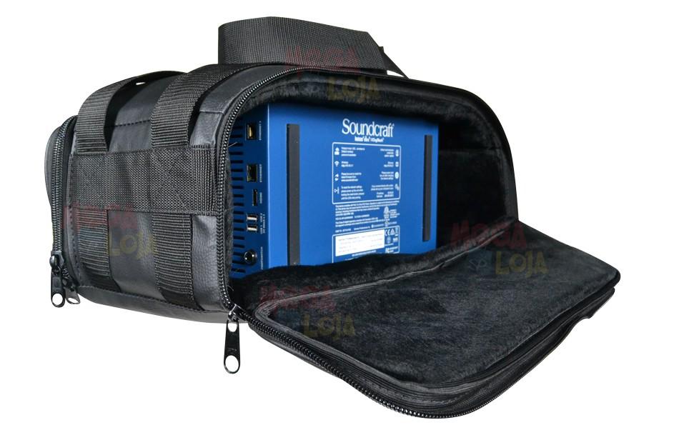 Bag Capa Semi Case Ui24 Ui24r Superluxo Revestida  - MegaLojaSP