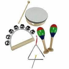 Bandinha Infantil Turbinho 4 instrumentos BR4A  - MegaLojaSP