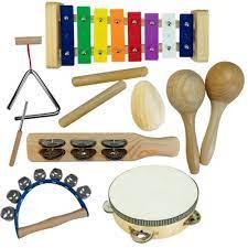 Bandinha Infantil Turbinho 7 instrumentos BR7  - MegaLojaSP