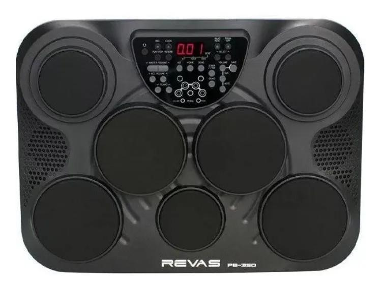 Bateria Eletrônica Portátil Revas PB350 By Roland  - MegaLojaSP