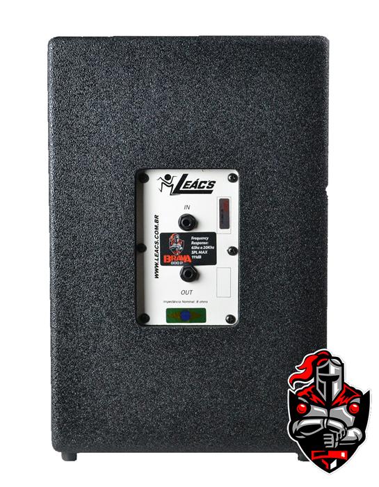 Caixa Amplificadora Leacs Linha Brava 1500 Passiva 150w Rms  - MegaLojaSP