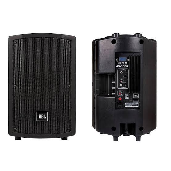 Caixa Ativa JBL JS15 BT  - MegaLojaSP