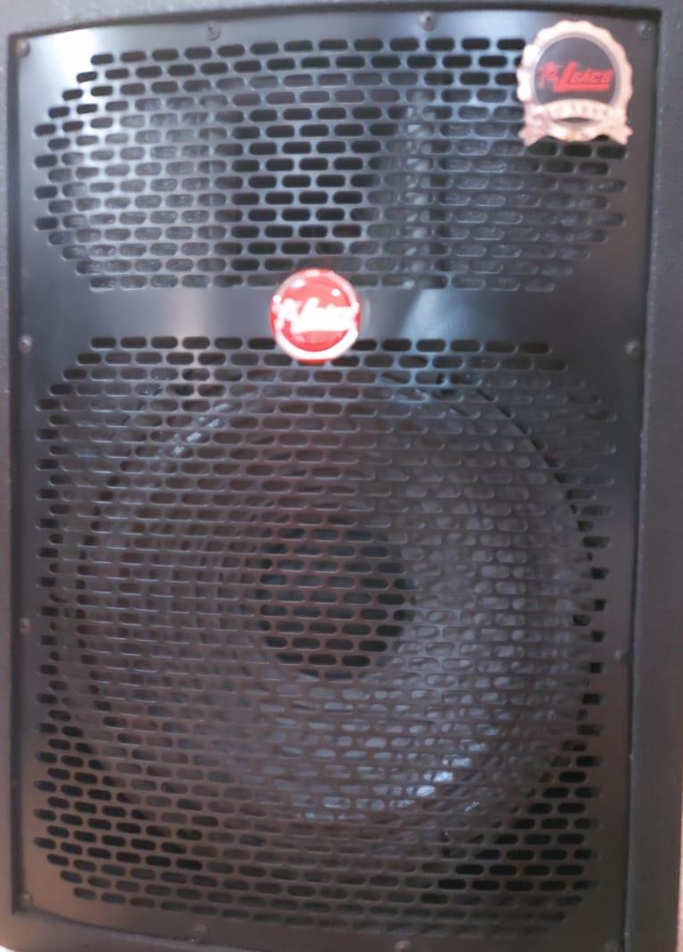 Caixa Ativa Leacs Fit160 Titânio 150W  - MegaLojaSP