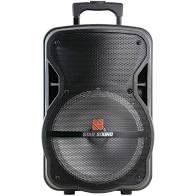 Caixa ativa Star Sound SS100 Com Bateria   - MegaLojaSP