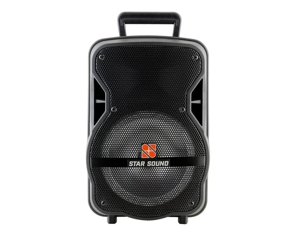 Caixa Star Sound Ativa Bluetooth By Staner Ss80  - MegaLojaSP